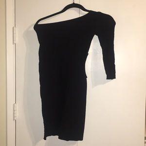 Asymmetric Bebe Dress